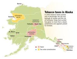 Ketchikan Alaska Map by Tobacco Taxes Increasingly Popular Throughout Alaska Alaska
