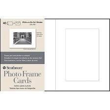 photo frame cards strathmore cards and envelopes 5 x 7 40pk photo frame cutout