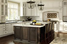 antique white kitchen cabinets with subway tile backsplash pin by joelle mclaughlin on kitchens antique white kitchen