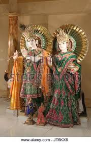 hindu l statues of hindu deities krishna a supreme god and radha l and