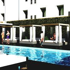 modern pool cabana designs plans guest floor home design ideas