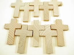 unfinished wood crosses 10 wood crosses 2 3 4 inch wood cross cross pendant