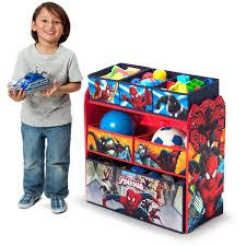 Disney Toy Organizer Delta Children Spider Man Multi Bin Toy Organizer Walmart Com