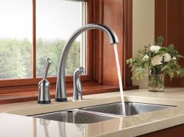 New Kitchen Faucet by Kitchen Room Running Faucet In Arctic Stainless New 2017 Elegant