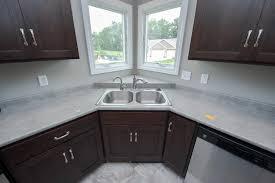 Kitchen Corner Sink by Kitchens Granite Ridge Builders