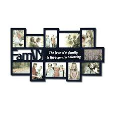unique large wall clock photo family picture frame art collage
