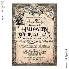 halloween spooktaculat invitation v 1 haunted mansion party