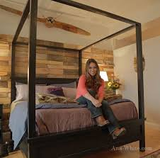 how to build a four poster bed frame ehow uk four post bed frame plans bed frame katalog 75f43e951cfc