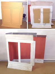 how to make my own cabinet doors diy cardboard display cabinet handmade
