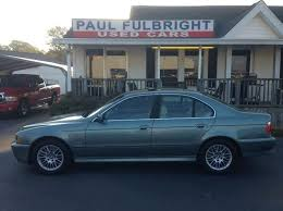 2002 bmw 5 series 530i 2002 bmw 5 series 530i 4dr sedan in greenville sc paul fulbright