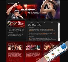 204 best free website templates sample images on pinterest free