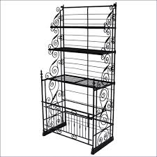Used Bakers Rack For Sale Kitchen Room Awesome Pine Bakers Rack Wrought Iron Bakers Rack