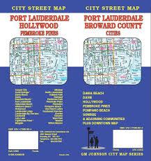 map of ft lauderdale fort lauderdale broward county florida map