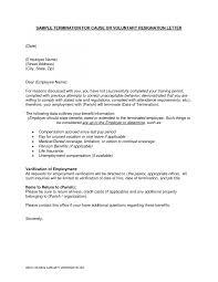 resignation letter cover letter resign letter sample due to