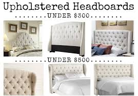 Cushioned Headboards For Beds Friday Finds Upholstered Headboards House Of Hargrove