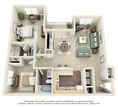 3 Bedroom Apartments Floor Plans 3d 2 Bedroom Apartment Floor Plans Yahoo Image Search Results
