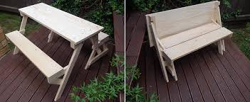 Plans For Picnic Table Bench Combo by Kids Folding Picnic Table 2 In 1 Introduction