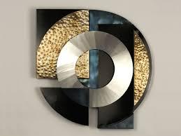 geometric modern metal abstract wall art 12732391 overstock on