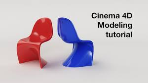 panton chair modeling tutorial with c4d youtube