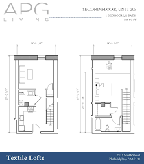 floor plans u0026 availability textile lofts graduate hospital