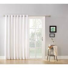 Glass Door Curtains Mainstays Blackout Energy Efficient Wide Sliding Glass Door