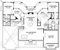 unique ranch house plans home design house plan empty nester plans pics home and floor