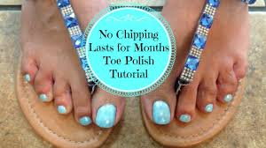 polish toenails how to polish toes so they don u0027t chip youtube