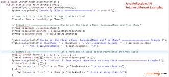 Java Map Example Java Reflection Tutorial Create Java Pojo Use Reflection Api To