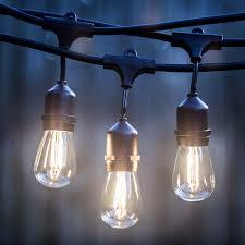 ebay led string lights 48 ft led outdoor string lights by proxy lighting ul listed ebay of