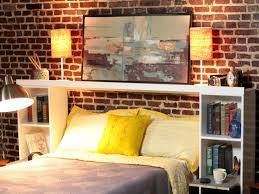 how to make a headboard out of storage crates how tos diy