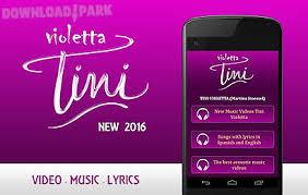 best part lyrics spanish tini violetta music and lyrics android app free download in apk