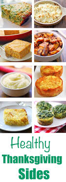 healthy thanksgiving sides healthy recipes