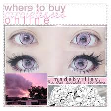 63 circle lenses images eye contacts anime