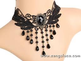 choker necklace black lace images Black lace choker necklace black layered choker black wide choker jpg
