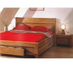 chambre en pin massif pas cher lit teck massif borneo 3044
