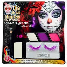 spider sugar skull halloween makeup kit u2013 silverrainstudio com