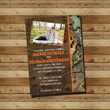 Redneck Wedding Invitations Imposing Camouflage Wedding Invitations Theruntime Com