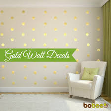 gold wall decals roselawnlutheran bobee gold polka dot wall decals