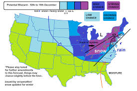 Map Of The United States Please by Potential Blizzard Forecast United States For 12th 15th
