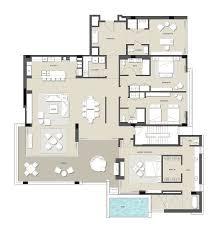 Ritz Carlton Floor Plans by Ritz Carlton Residences Paradise Valley Villa Residence 3j