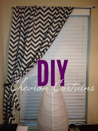 diy no sew curtains buy fabric from hobby lobby measure cut