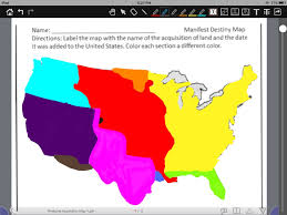 Color Map Of The United States by Map Of United States Thinglink
