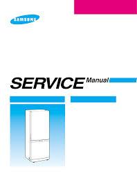 samsung refrigerators rb215bssb pdf service manual free download