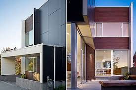 modern house facades and structure lighting modern house design
