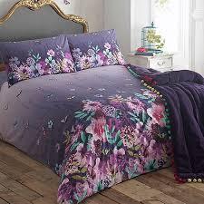 Plum Bedding And Curtain Sets Purple Bedding Home Debenhams