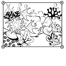 eric carle coloring page seahorse coloring pages for kids archives best coloring page