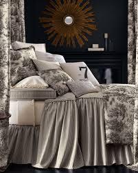 queen toile bedding horchow com