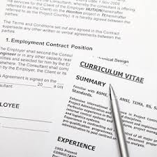 Resume Vitae Template Curriculum Vitae Templates And Tips Download A Free Curriculum