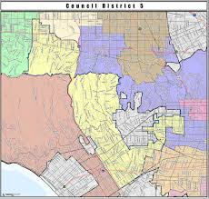 Map Of Ucla Cd5 District Profile And Map