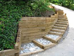 3x5 landscape timbers retaining wall considering landscape